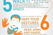 Body language-positive and impressive