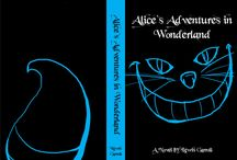 Alice In Wonderland - Book Covers and Wall Paper