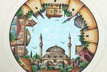Geleneksel Türk el sanatları / El sanatları