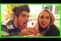 Joey graceffa and jennxpenn / by Christy Flower