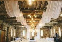 Draping and Fairy Lights