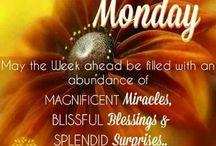 Good Mornings week