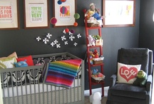 Colourful Nurseries and styling ideas
