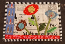 Quilts: Mug Rugs, Placemats, Tablerunners, Etc. / by Angie Davis
