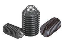 03000 / Poussoirs à ressort / Doigts d'indexage / Butées / Eléments de positionnement et de centrage / Fixations / Lardons -  Spring plungers / Locking bolts / Stops / Centring and positioning components / Fixings Slot nuts