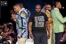 BLACK FASHION WEEK / défilé NEFER pendant la Black Fashion Week. Crédits photos : OSI photographe