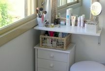 Makeup area ideas