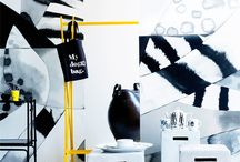 Black and white / Black and white decor ideas.