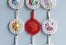 crochet applicaties, 2d / platte haaksels, applicaties