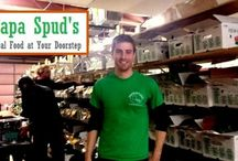 "Papa Spud's / The Cary-based farm to fork service offers the largest variety of NC produce and delivers it directly to customer's front doors. Clairemont loves having a client that is so deeply ""rooted"" in North Carolina."