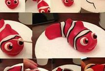 Isabella Fish Themed Cake