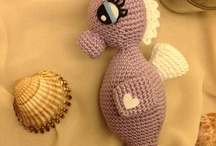 amigurumi whales, dolphins and sea creatures