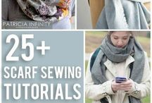 sew scarves and cowls