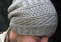 Knitted scarf and beret