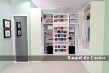 Projeto Closet / Projeto Closet  Projetista Raquel Castro ----Projetos de Decoração e Reforma.---- Designer de Interiores: Raquel de Castro