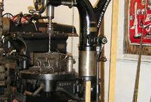 старинный инструмент, станки