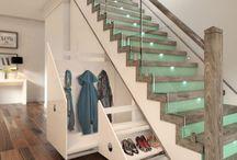 Stair built in