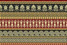 Fine mønster/border