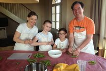 2014 Cooking Classes in Tuscany / A new Spring, Summer, a new adventure with my students on holiday in Tuscany!