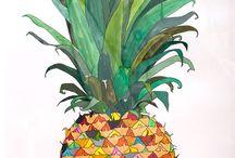 Pineapple / by Marion BlaBlaBla