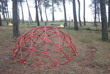 Playground domes