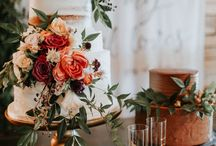 Wedding cake and sweet table