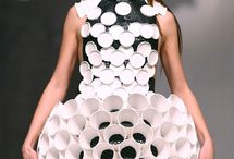 Wearable art recycled