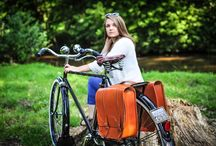FS products outdoors / Beautiful photos showing our classic leather bags and panniers outdoors