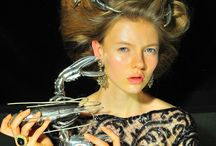 Acconciature Fashion / Foto di LeonardoVfashionbook, creati da Dimitar H. by Francesco Ficara, per Buccellati