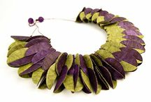 Paper Jewels / Creations to adorn yourself with made of PAPER!