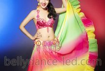 belly dance skirts and hip scarf / Newly evolved LED belly dance skirts are immensely beautiful and enhance the looks of dancers.