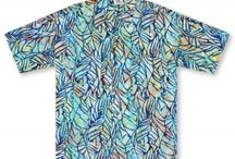 Rum Reggae / Hand Batik'd shirts from Indonesia (where all authentic Batik is created) these shirts utilize a wax and dye process, then boiled to remove the dye. Each is unique and full of Pacific Island flair.  / by 🌺 🌺Aloha Shirt Shop🌺 🌺