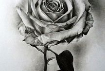 Inspiring - Drawing or Sketching / This is about drawing and sketches! And mostly about flowers