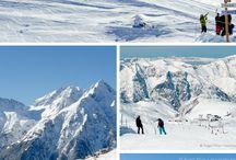 French Ski Resorts / French Alpine ski resorts in winter