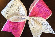 cheer bows / by Carol Milligan