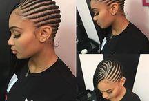 coiffures braid