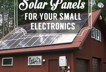 Solar Power / Using solar power in your home and on the farm.
