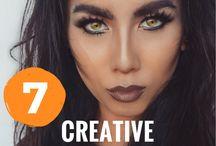 Halloween Makeup / Halloween Makeup to inspire the daring and creative!