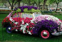 Superb !! Wedding Bridal Car with Flowers / There's just about everything you can think of and need from ribbons to bows to sashes and flowers to help you turn your everyday car into the perfect wedding vehicle for your special day.