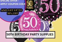 50th Birthday Party Decorations / Find 50th Birthday Party Decorations & Party Supplies