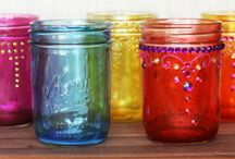 Get crafty with mason jars.