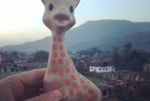 A travers le monde / A la mer, à la montagne, dans le désert... des clichés de Sophie la girafe® pris dans le monde entier!