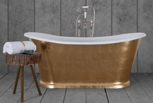 Hand Gilded Baths