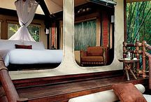 Glamping Wall Tents / We are adding a few glamping wall tents as sleeping pods to 2 of our Airstreams.