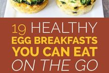Healthy egg and other breakfasts