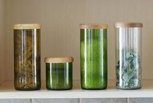 Solid Water Design / Recycled glassware & product design