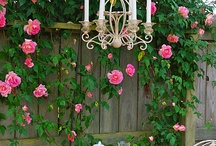 Outdoor Tablescapes / Springtime and Roses