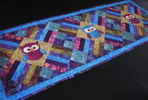 Bountiful Table Topper / Bountiful Table Topper projects from the Island Batik Ambassadors!