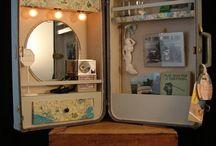 Old things repurposed / by Lisa Catchings