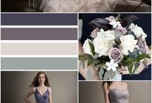 Romantically Elegant Wedding Color Inspiration / Jasmine Bridal dresses that will go perfect with your elegant wedding day. Giving you deep color tones that will have your guests falling in love!